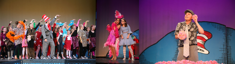 Cast shots of Seussical the Musical
